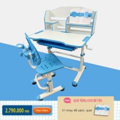 Bộ bàn ghế chống gù cho bé tiểu học BK-306