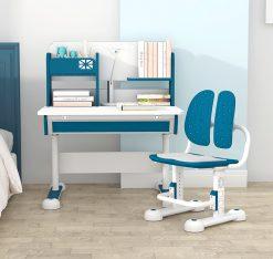 Bộ bàn học thông minh dài 80cm mã M-1080 và ghế chống gù mã M-167